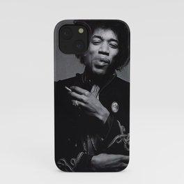 Jimi Hendrix Posters Prints, Singer Print, Rock Music Legends, Vintage Photo, Black White Poster, Celebrity Poster, Wall Art Print, Vintage iPhone Case