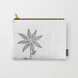 flower #1 Carry-All Pouch