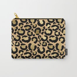Animal print - natural gold Carry-All Pouch