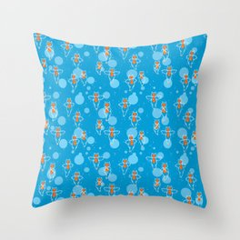 Clione Throw Pillow