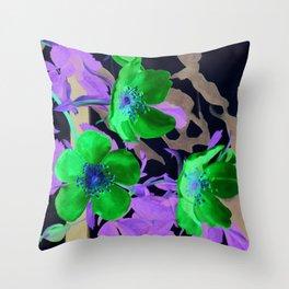 Gentle Blush Throw Pillow