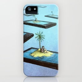 Society connected iPhone Case