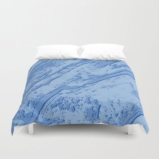 BLUE MARBLE EFFECT Duvet Cover