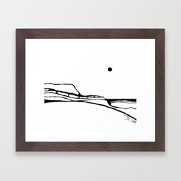 Landscape 040112 Framed Art Print