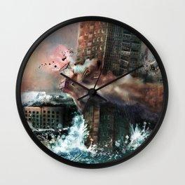 Wrecking Ball Listener Panorama Wall Clock
