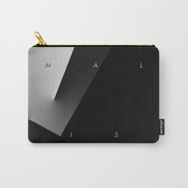 History of Art in Black and White. Minimalism Carry-All Pouch