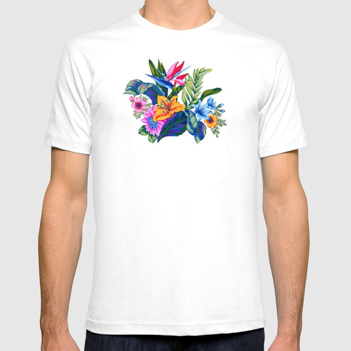26f33abf Jungle Vibe T-shirt by vikkisalmela | Society6