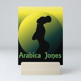 Arabica Jones® Mini Art Print