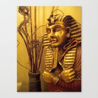 egyptian Canvas Prints featuring Egyptian by Clinically Moi