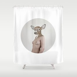 Therianthrope - Doe Shower Curtain
