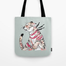 goopy knives Tote Bag