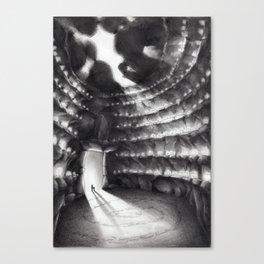 La grotta dei suoni Canvas Print