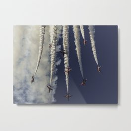 Spaghetti Break Metal Print
