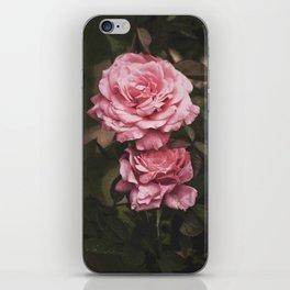 Pink Rose Garden iPhone Skin