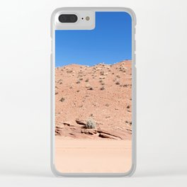 Four-Wheel-Driving Through the Pinks and Blues of Antelope Canyon 04 Clear iPhone Case