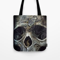 goliath skull Tote Bag