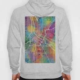 Minneapolis Minnesota City Map Hoody