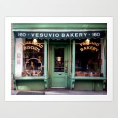 Vesubio Bakery (in color) Art Print