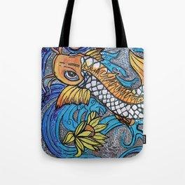 Glitter Fish Tote Bag