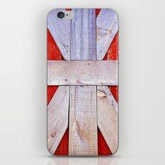 'BARN GRID' iPhone Skin