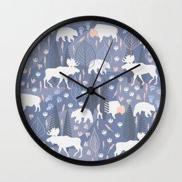 Yellowstone (Tide) Wall Clock