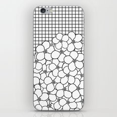 Forget Me Knot Grid iPhone & iPod Skin
