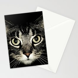 A purrfect face! Stationery Cards