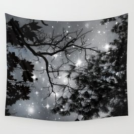 Starry Night Sky Wall Tapestry