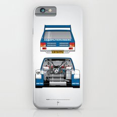 Outline Series N.º7, MG Metro 6R4, 1986 Slim Case iPhone 6s