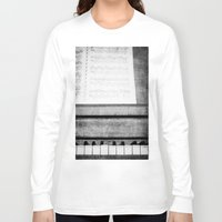 piano Long Sleeve T-shirts featuring Piano by KimberosePhotography