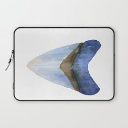 Blue Shark Tooth Laptop Sleeve