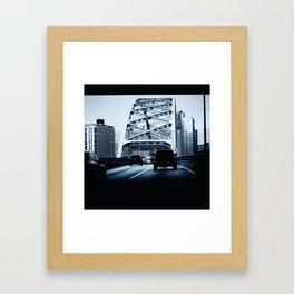 Pittsburgh Framed Art Print