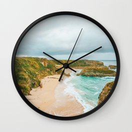 Summer Coast VII Wall Clock