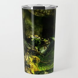 Cammo Frog Travel Mug