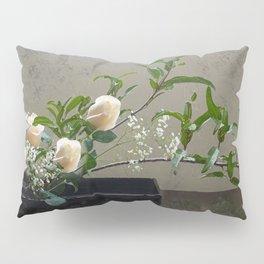 Vanilla Dolce Roses Pillow Sham