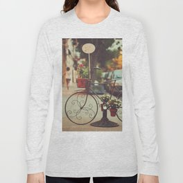 The bike with the flowers Long Sleeve T-shirt