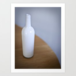 Bottled Up Alone Art Print