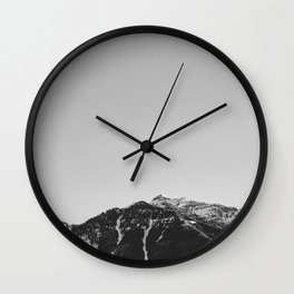 Mountain in Utah Wall Clock