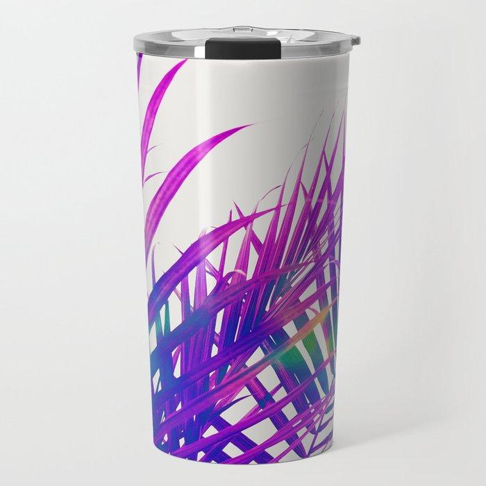 Colorful Palm Travel Mug