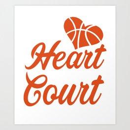 Amazing Gift For Basketball Lover. Art Print