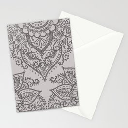 BOHO ORNAMENT 1B Stationery Cards