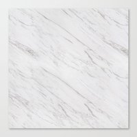 marble Canvas Prints featuring Marble by Grace