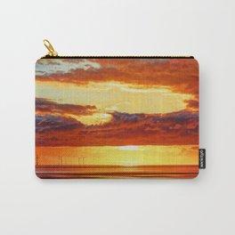 Irish Sea Sunset Carry-All Pouch
