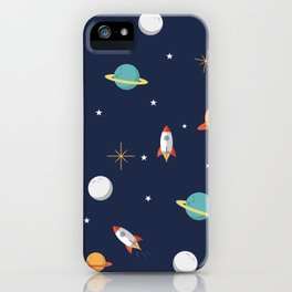 Space Pattern iPhone Case