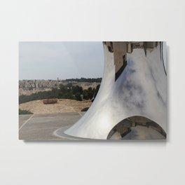 Anish Kapoor's sculpture, Israel Museum, Jerusalem Metal Print