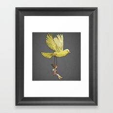 Higher... up to the sky!! Framed Art Print