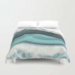 Sea Agate Duvet Cover