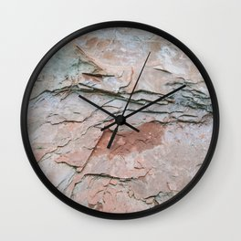 Sedona Pink - The Elements Series Wall Clock