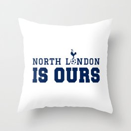 "Tottenham hotspurs tshirt, The Spurs to Dare is to Do ""Audere est Facere"" champions league final mad Throw Pillow"