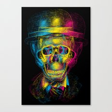 Worked to Death Canvas Print